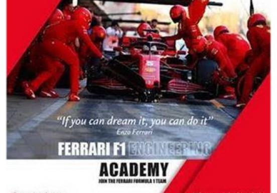 Ferrari looks forward to meet the best Engineering Students