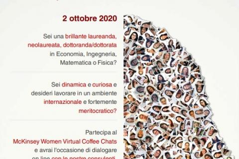 McKinsey Women Virtual Coffee Chats